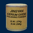 Cerium oxide polishing powder packed in 25 kg bag